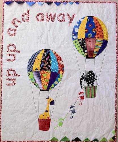 Camillas nursery quilt