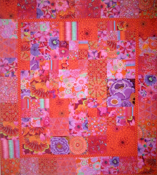 Kaffe Fassett Red