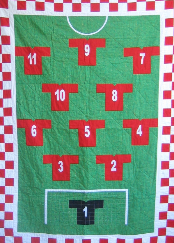 Liverpool FC quilt