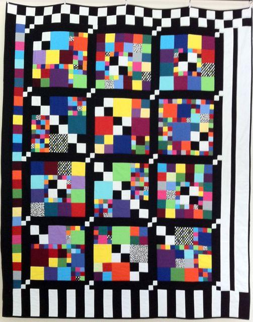 Test card quilt